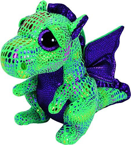 """Beanie Boo Dragon - Cinder - Green - 15cm 6"""""""