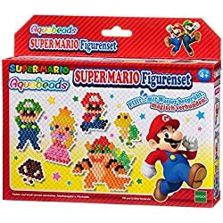 aquabeads 30139–Super Mario figuras, manualidades regalo para niños