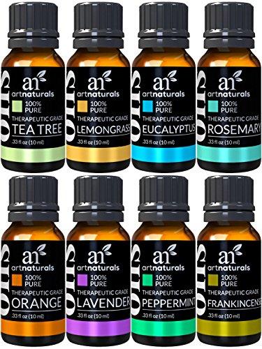 ArtNaturals - Juego aceites esenciales aromaterapia