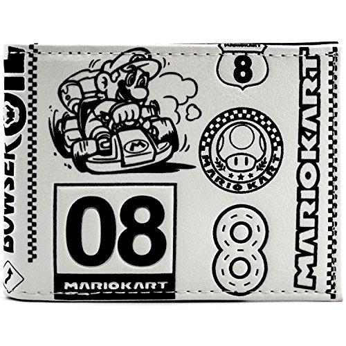 Pilz-Cup Weiß Portemonnaie Geldbörse (Mario Pilz Kostüme)