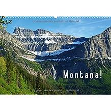 Montana! / BE-Version (Calendrier mural 2015 DIN A2 horizontal): Un voyage à travers la nature sauvage époustouflante du Montana. (Calendrier mensuel, 14 Pages) (CALVENDO Nature)
