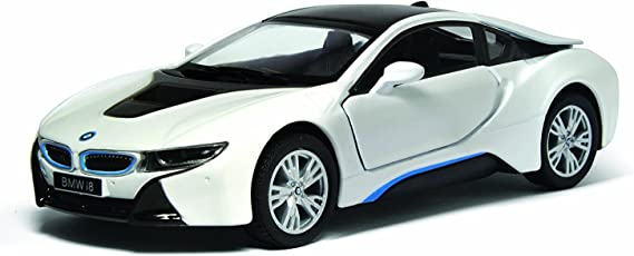 Kinsmart 1:36 BMW i8 Die Cast with Openable Doors, Multi Color