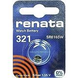 321 (SR616SW) Pila de Botón / Óxido de Plata 1.55V / para Los Relojes, Linternas, Llaves del Coche, Calculadoras, Cámaras, etc / iCHOOSE