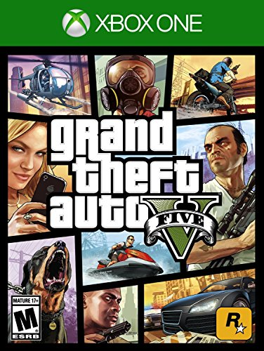 Xbox One Grand Theft Auto 5 GTA US Import auf Deutsch - Auto 5 Grand Xbox Theft