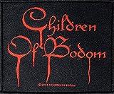 CHILDREN OF BODOM Aufnäher BLOOD LOGO Patch gewebt 10 x 9 cm