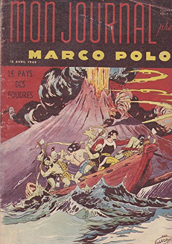 MARCO POLO # 12 1949 Mon Journal LE PAYS DES FOUDRES d'occasion  Livré partout en France