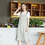 MiGMV Kleiden, große Größe, Damenmode, 2018 Neue Fat Schwester, Sommerkleid, Fairy Dress, L, Apricot Farbe