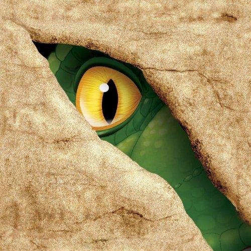 (Unbekannt 16 Servietten * DINOSAURIER * in der Größe 25x25cm für Kindergeburtstag // 665012 // Kinder Geburtstag Party Dino T-Rex Dinos Saurier Napkin Papierservietten)