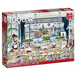 Premium Collection Wanderlust Collection, London Tea Party 1000 pcs Puzzle - Rompecabezas (London Tea Party 1000 pcs, Puzzle Rompecabezas, Ciudad, Niños y Adultos, Niño/niña, 12 año(s), Interior)