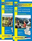 Naturparkkarten, Naturpark Saar-Hunsrück (Freizeitkarten Rheinland-Pfalz 1:50000 /1:100000) -