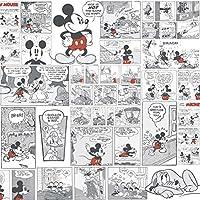 Dandino DY 3011-3 Papel Pintado con Diseño Mickey Clasic, Multicolor, 60x18x18 cm