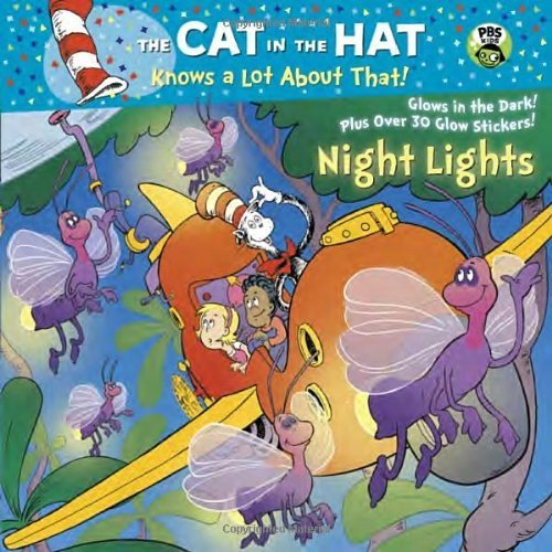 Night Lights (Dr. Seuss/Cat in the Hat) (Glow-in-the-Dark Pictureback) by Rabe, Tish (2014) Paperback (Dark The Hats Glow In)