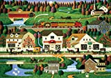 Buffalo Games Yankee Wink Hollow by Charles Wysocki from The Americana Collection Jigsaw Puzzle (500 Piece) by Buffalo Games
