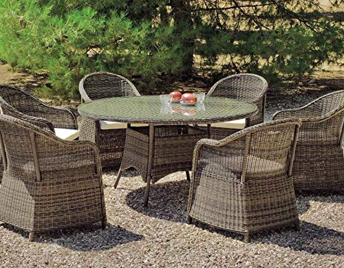 Hevea - Table de jardin ronde \