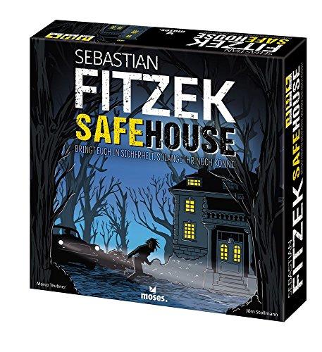 Moses Sebastian Fitzek SafeHouse - Das Spiel | Safe House Gesellschaftsspiel von Marco Teubner