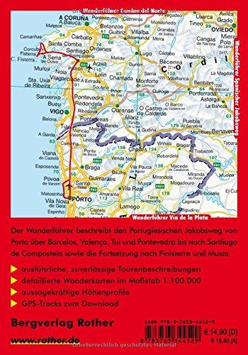 Jakobsweg - Caminho Português: Von Porto nach Santiago de Compostela. 11 Etappen plus Küstenvariante. Mit GPS-Tracks (Rother Wanderführer): Alle Infos bei Amazon