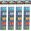 Monster Pencils Party Bag Fillers, pack of 6