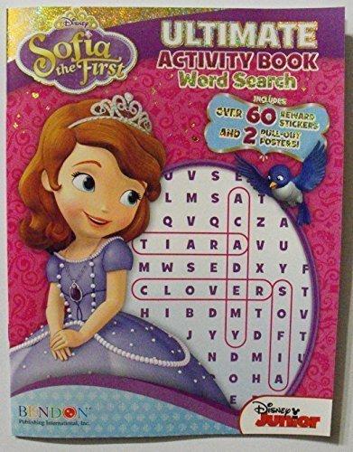 Seite Ultimate Activity Buch/WORT-Suche mit 60Belohnung Aufkleber & 2ausziehbares Poster. Disney ()