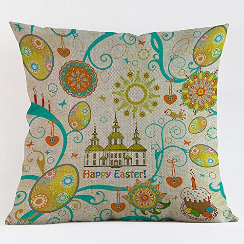 2019 nuovo federa per cuscino 45cm×45cm/18×18 pollice in tessuto cotone di lino per la casa in lino elegante in cotone per la decorazione della casa by wudube