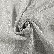 Tela para cortinas visillos arredo al metro Charlie gris por metro panel toalla cortina GIOSAL