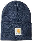 Carhartt Herren Acrylic Watch Hat Winter-Hut, Dunkelblau/Marineblau, Einheitsgröße