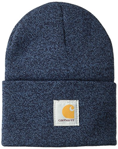 Carhartt A18 Acrylic Watch HAT One Size RED Navy