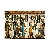 CafePress–Antike Ägyptische Wand Gobelin–Rechteck Magnet, 5,1x 7,6cm Kühlschrank Magnet