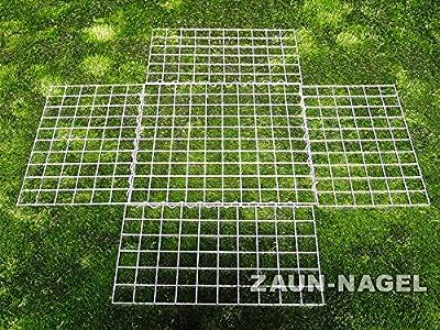 Gabionenkorb - 100 x 50 x 30 cm - Raster ca. 50 x 50 mm HD von Zaun-Nagel - Du und dein Garten