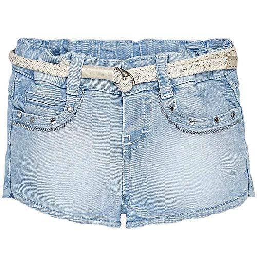 Mayoral short jeans bimba 1246 chiaro 9
