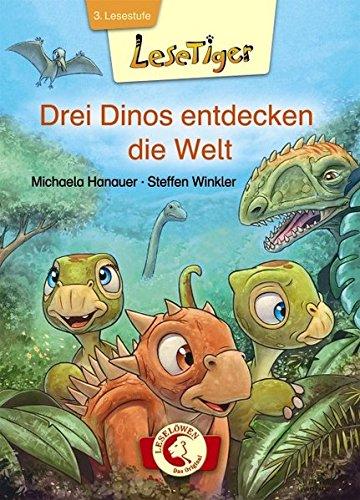 Lesetiger - Drei Dinos entdecken die Welt