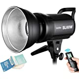 Godox SL-60W 60WS 5600±300K Bowens Mount Strobe Flash White Version Video Light Wireless Control Continuous on Photography St