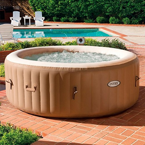 There's so much to love about the Intex Pure 6 Person Hot Tub. The size obviously is a massive advantage over other smaller models, though not everyone wants to invite a gang of mates to their inflatable hot tub. For a couple, this spa offers acres of space for delightful moments.