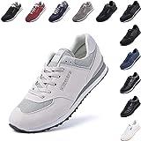 Scarpe Ginnastica Uomo da Sportive Scarpe da Running Sneaker Basse Donna Tennis Unisex Moda Sport Fitness Nero Blu Beige Ross