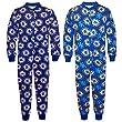 Chelsea FC Official Football Gift Boys Kids Pyjama Onesie Blue from Chelsea FC