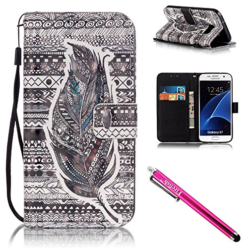coque-galaxy-s7-firefish-kickstand-shock-proof-double-etui-de-protection-flip-folio-slim-couverture-