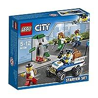 Lego 60136Utilizza la radio della polizia per chiamare i rinforzi! I ladri hanno appena fatto saltare in aria il bancomat con la dinamite e ora stanno cercando di aprirlo con un martello pneumatico! Salta al volante del fuoristrada della polizia e pr...
