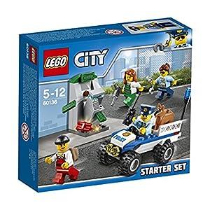 LEGO City 60136 - Set Costruzioni Starter Set della Polizia 5702015865227 LEGO