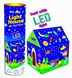 Magicwand Kids Play Tent House with Led Lights