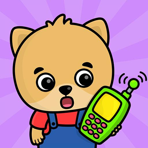 Telefon für Kinder - Kinderspiele (L Telefon 6 Telefon)
