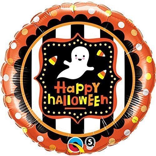 ween Geist & Süßigkeit Mais 18 Zoll Folienballon (Halloween Mais Süßigkeiten)