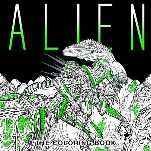 Alien-The-Coloring-Book-Colouring-Books