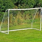 AZITEKE - Jardín portátil de exterior de tamaño completo con red de fútbol a prueba de putrefacción para 4-11 personas (3.6 * 1.8m, solo contiene cuerda de red)