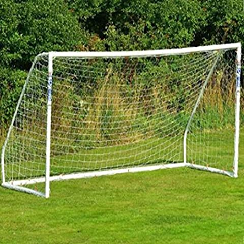 Football Net, Ultra Portable Fold-Away Football Soccer Goal Net [The Only Goal That Can be Left Outside in Any Weather] Included 2 Size
