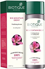 Biotique Bio Mountain Ebony Vitalizing Serum For Falling Hair Intensive Hair Growth Treatment, 120ML