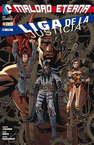 Liga de la Justicia 6 (TPB) (Liga de la Justicia (Nuevo Universo DC) - Rústica cuatrimestral) por Geoff Johns