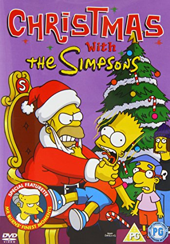 Simpsons: Christmas With The Simpsons [Edizione: Regno Unito] [Edizione: Regno Unito]