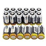 Photo Et Camescopes Best Deals - Keenstone CR123A Batteries lithium cylindrique jetable de haute performance pour Lampe de poche Appareil numérique de photo Caméscope Jouets Torche (lot de 18)