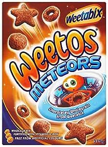Weetos Meteors 375 g (Pack of 4)