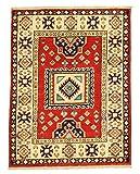 Nain Trading Kazak Royal 86x65 Orientteppich Teppich Beige/Orange Handgeknüpft Pakistan