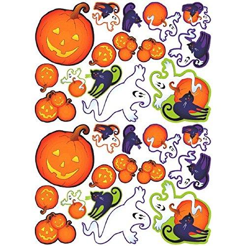 Amscan - Pegatinas para Pared y Cristal Halloween (199973)